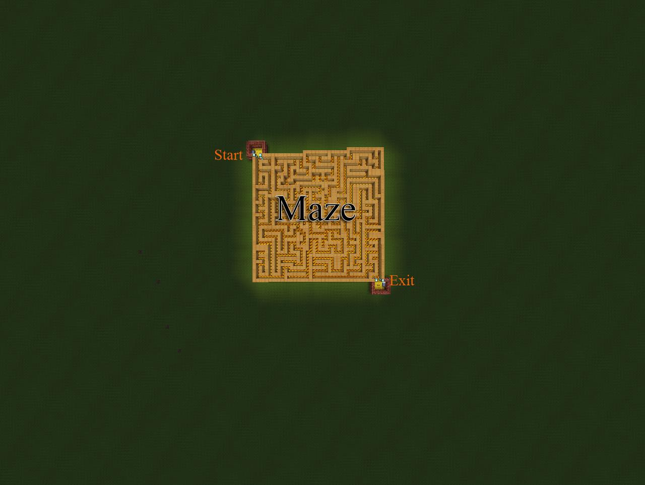 Maze Easy Fixed Download Minecraft Project