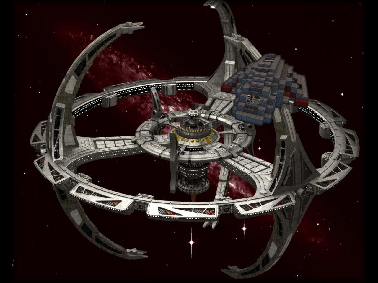 Star Trek Danube Runabout 1 1 scale (Zeppelin mod compatible