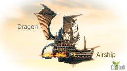 Dragon vs. Airship FIGHT [Download] Minecraft