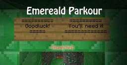 Emerald Parkour [Insanely Hard] Minecraft Map & Project