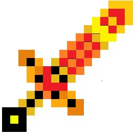 Fire sword for rajiv29 Minecraft Texture Pack