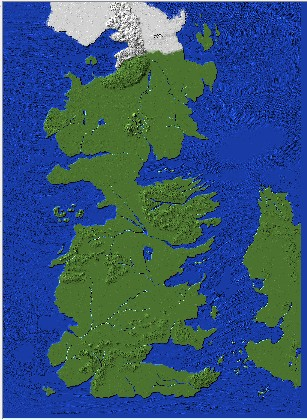 Full Map Of The World.Game Of Thrones Full Westeros Map Perfect For Adventure Rpg Style