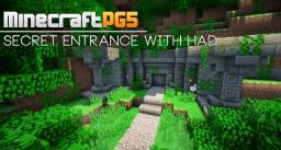 Secret Entrance with hidden arrow detector [HAD] Minecraft