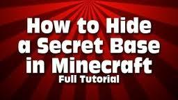 ways of hiding your base Minecraft Blog