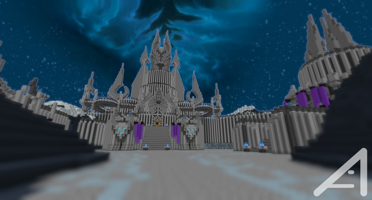 Icecrown Citadel In Minecraft Alpha Wip Minecraft Project