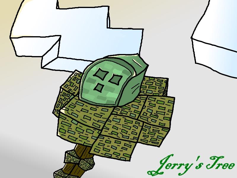 Jerry's Tree (CaptainSparklez) Minecraft Blog