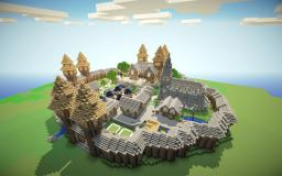 Medieval Spawn (With Schematic!) Minecraft Map & Project