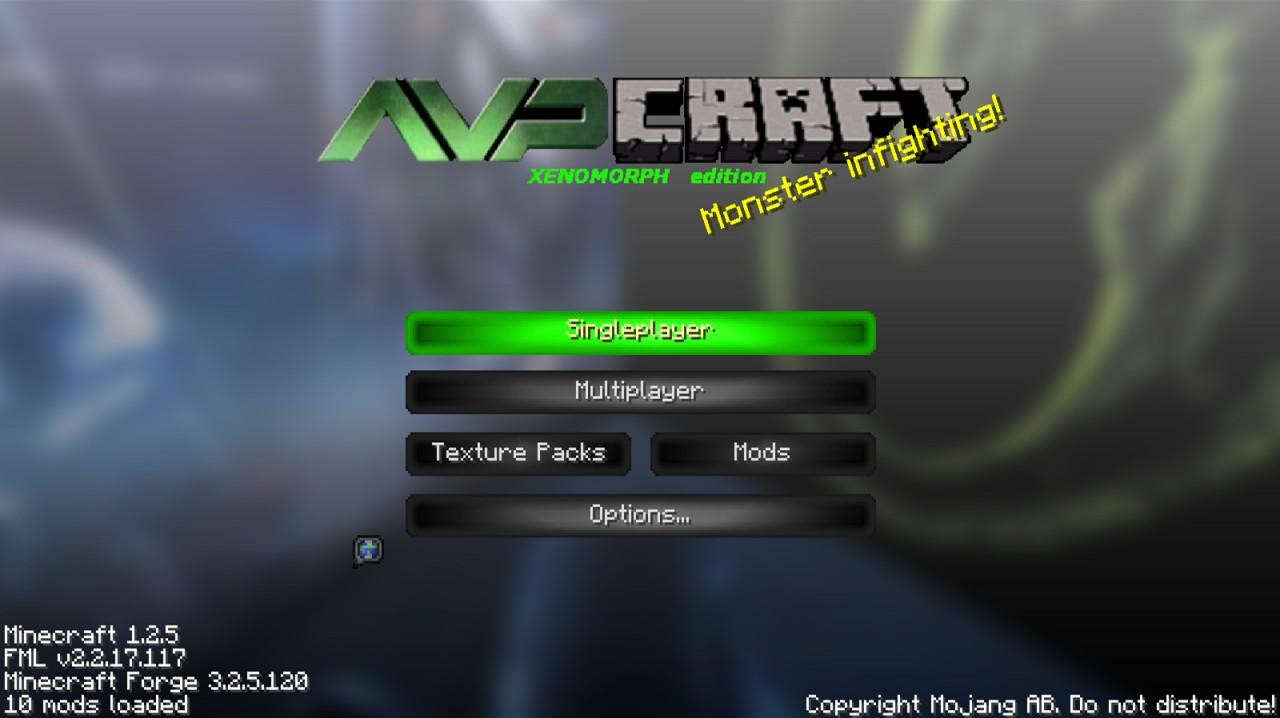 AVP Sound Pack - Xenomorph edition Minecraft Mod