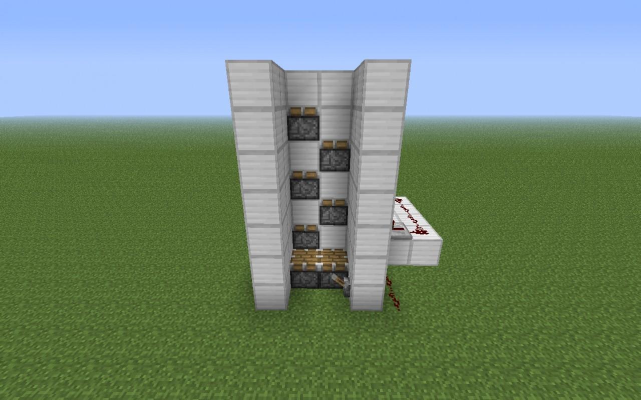 Il meglio di potere: Piston minecraft elevator