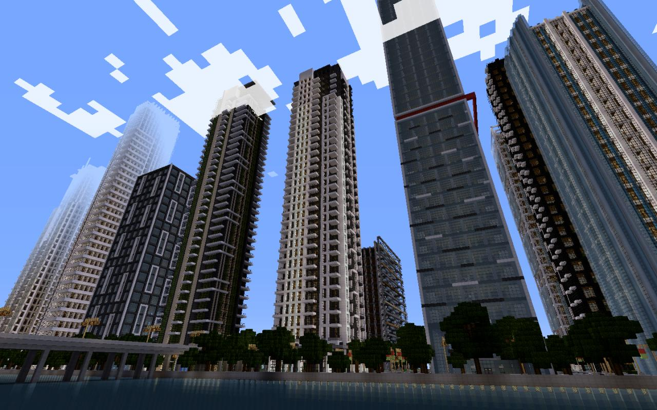 View My Minecraft World With My Buildings