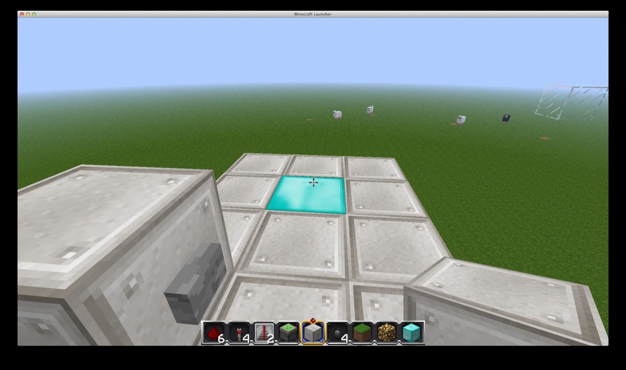 Single Floor Elevator Minecraft Project