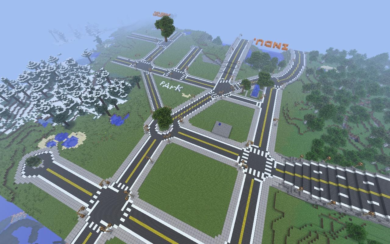 Muttsworld City Minecraft Project