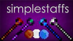 [1.3.1] Simple Staffs [NEW STUFF] Minecraft