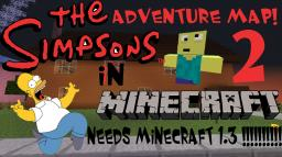 The Simpsons In Minecraft Adventure Map 2 [SEQUEL COMING SOON - 2018] Minecraft Map & Project