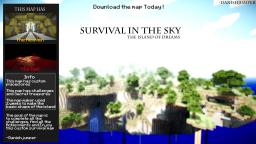 [Survival]★★★Survival in the sky★★★[25.000  Downloads][Challenges][Ores][Secrets] Minecraft Map & Project