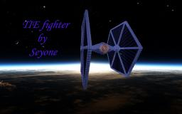 TIE fighter (STAR WARS) Minecraft Map & Project