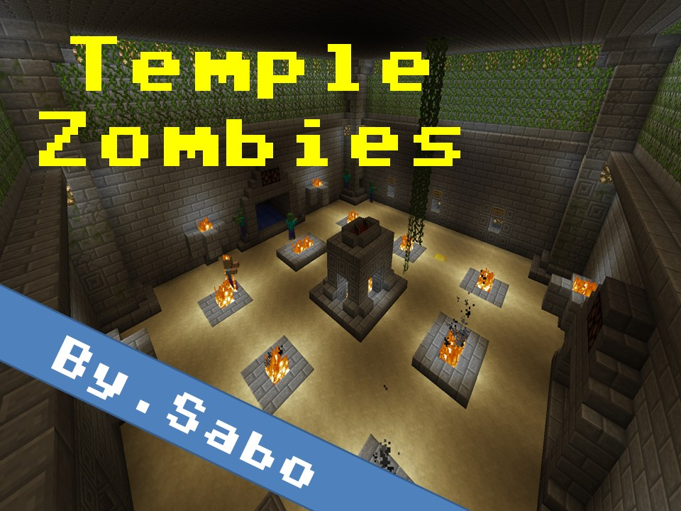 temple zombies zombie survival bysabo minecraft project