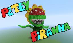 Petey Piranha Minecraft