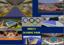 London 2012 Olympic Park Minecraft Map & Project