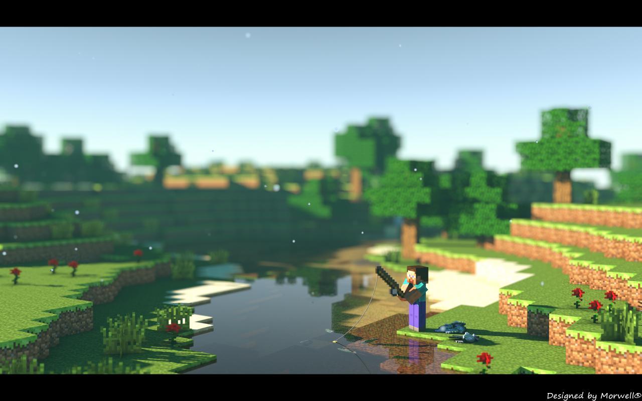 Top Wallpaper Minecraft Art - Wallpaper-Summer-Finished_3144923  Gallery_30685.jpg