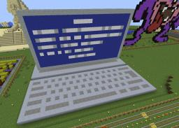 Blue Screen of Death Minecraft Map & Project