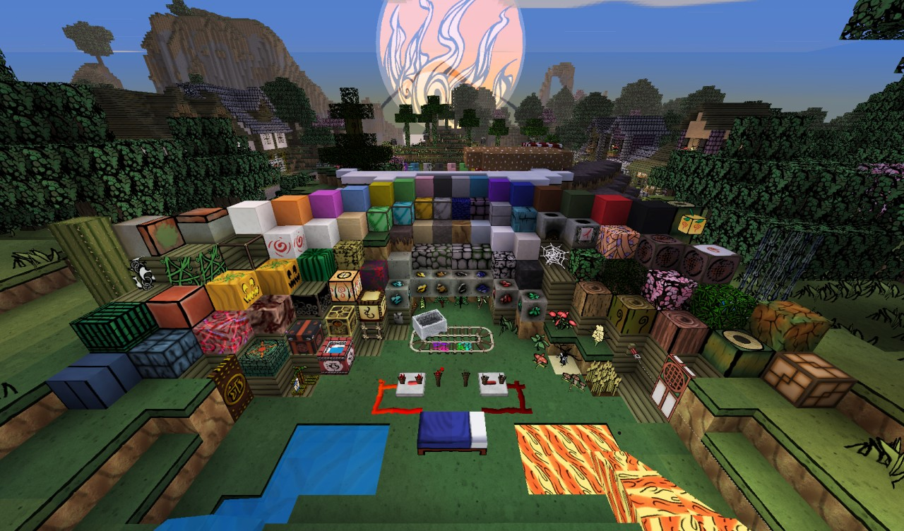 The Okami Texture Pack Minecraft Texture Pack