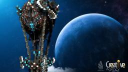 Balloon of space!! Minecraft