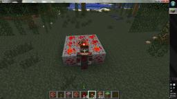 Redstone being gathered with Redstone while wearing Redstone! Minecraft Blog