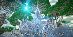 Fantasia Forest (Forest + Mansion) Minecraft Map & Project
