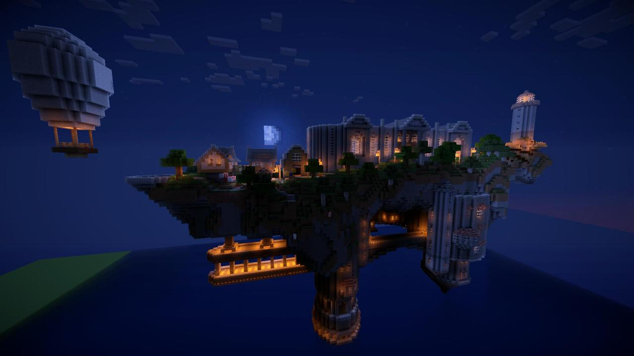 The island at night
