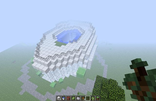 Toilet Shaped House (Completed With World Download). 4 diamonds