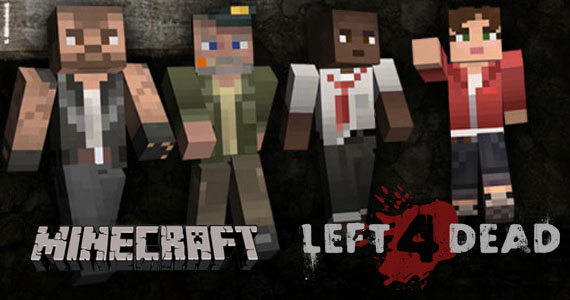 Video games in minecraft left 4 dead minecraft project for Crafting dead mod download