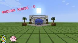 Minecraft: white modern house Minecraft Map & Project