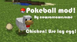 [1.3.2] Pokeball mod, finally updated! Minecraft Mod