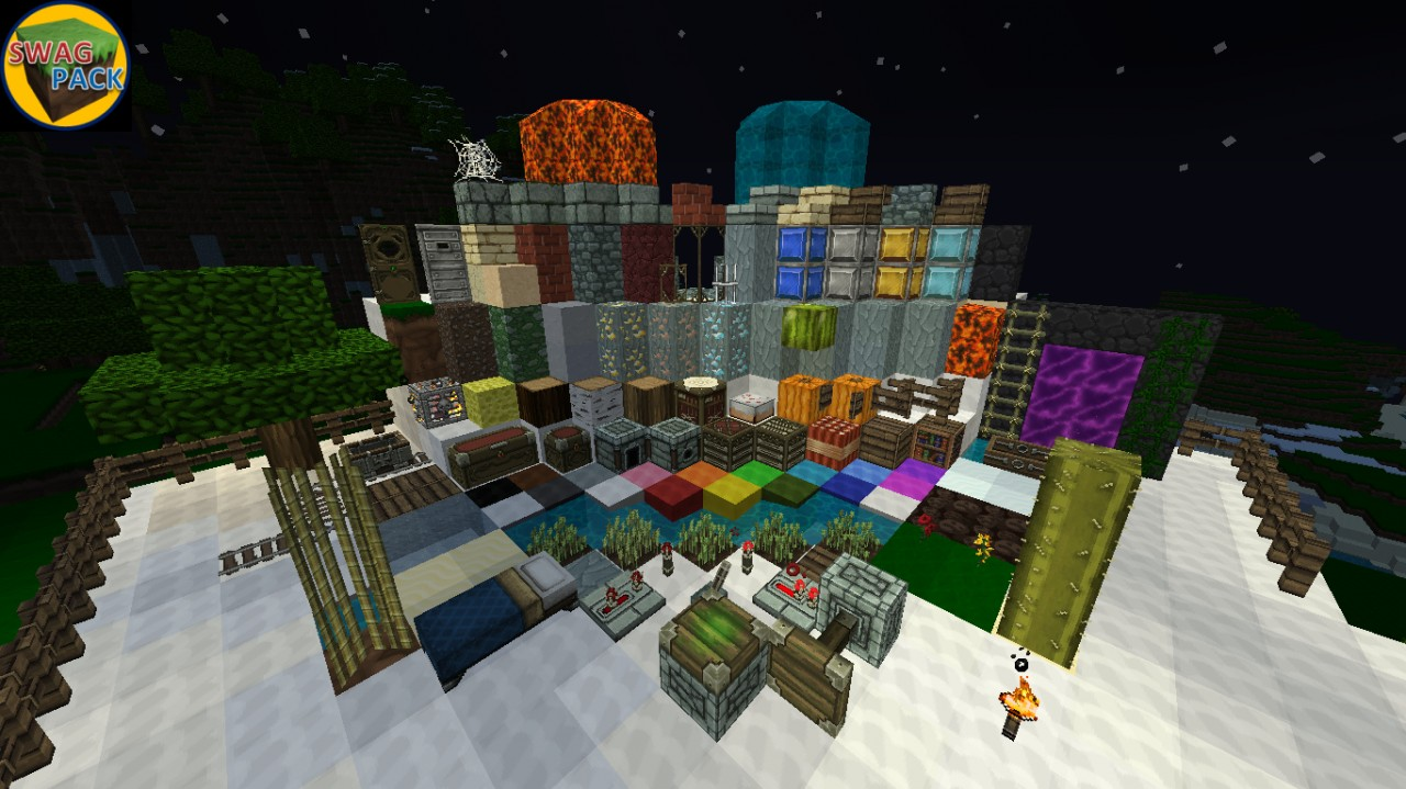 Swag Pack - Custom Mix Pack 1.3 READY Minecraft Texture Pack