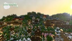 Shironoha (White Leaf) RPG City v1.2 for 1.3.1 Minecraft Map & Project