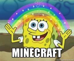 Spongebob in Minecraft: The Great Race Minecraft Map & Project