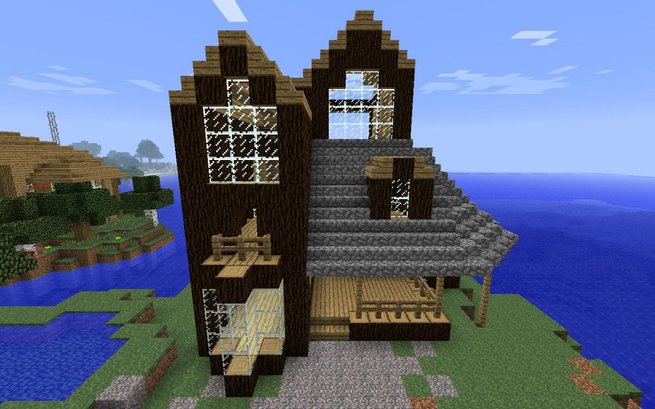 Contemporary Cabin Minecraft Project