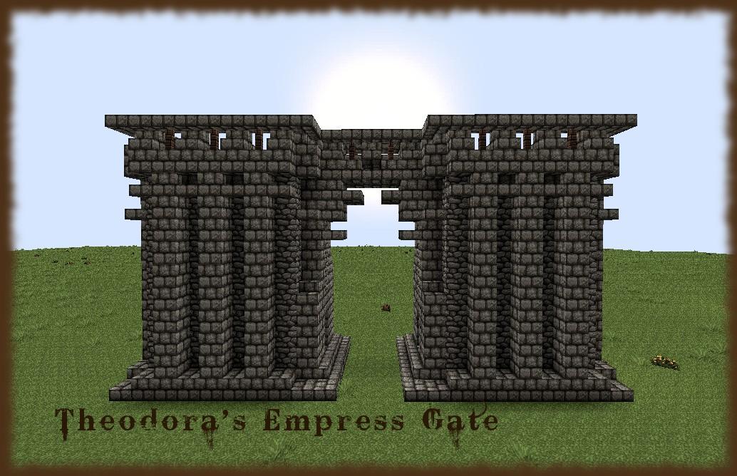 Bundle o gates medieval fantasy minecraft project