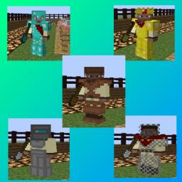 Awesome armor and shovels Minecraft Texture Pack