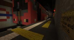 Underground Tube Train Minecraft Project