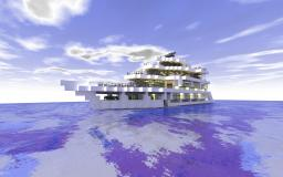 Modern Luxury Yacht Minecraft Map & Project