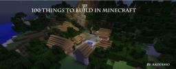 100 Things to Build in Minecraft Minecraft Blog Post