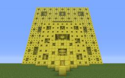 Menger Sponges [1st-4th Iteration] Minecraft Project