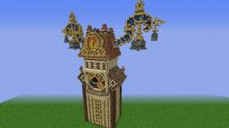 Twilight town Clocktower (From Kingdom hearts) [Mirage Creative] RE-UPLOAD Minecraft Map & Project