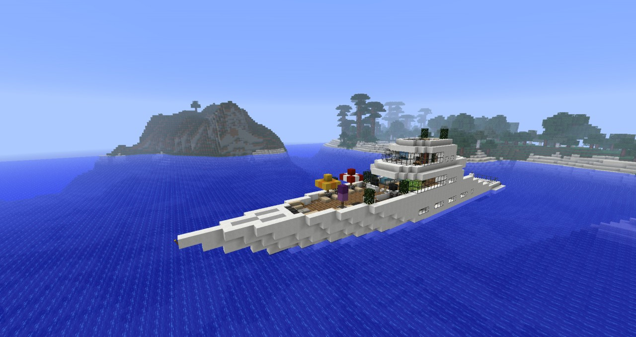 Modern Yacht Minecraft Project