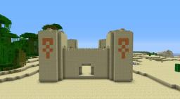 Sandstone Castle [Unfurnished] Minecraft Project