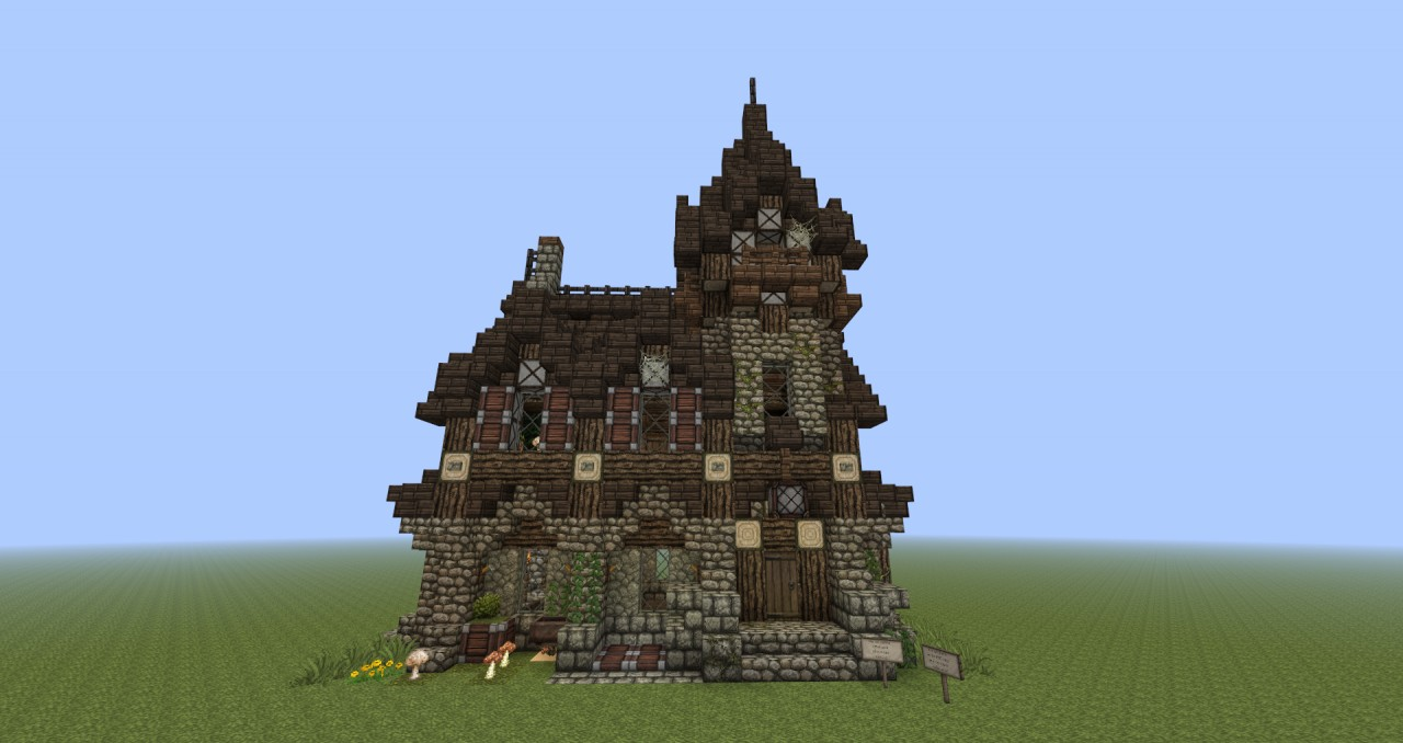Gothic House Minecraft Project