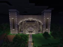 Central Train Station -  Majestic 12 Destination automated mine cart station. Works with MC 1.8.8 Minecraft Map & Project