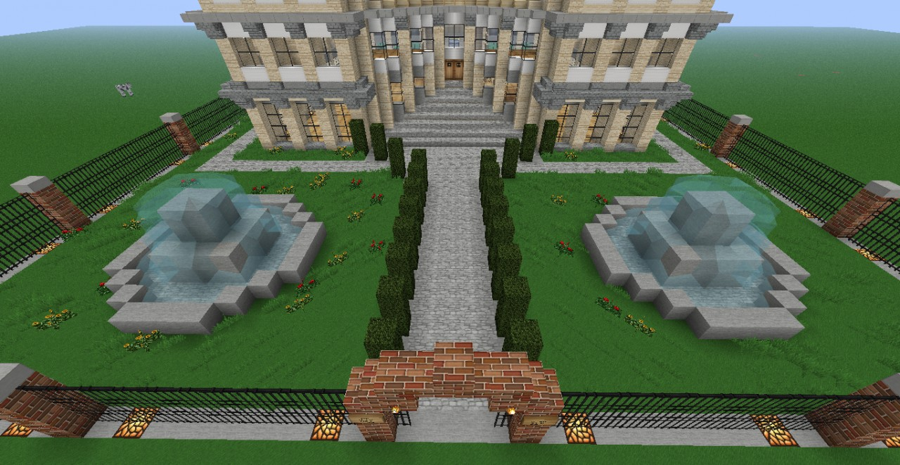 Victorian Style Mansion Minecraft Project
